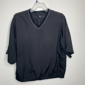 Nike Golf Men XL Black Short Sleeve VNeck Pullover